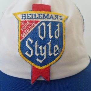 b6fc7c496abc6 The Winner Accessories - Vintage Old Style Beer Patch Snapback Trucker Hat